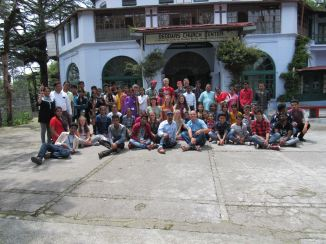 The youth retreat
